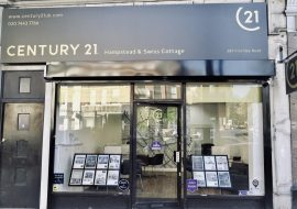 Century 21 Hampstead and Swiss Cottage Office Exterior
