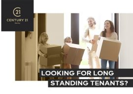 Looking for long standing tenants?